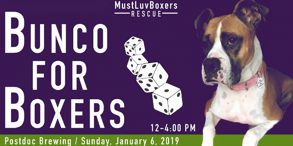 MLBR's Bunco For Boxers - 2nd Edition!