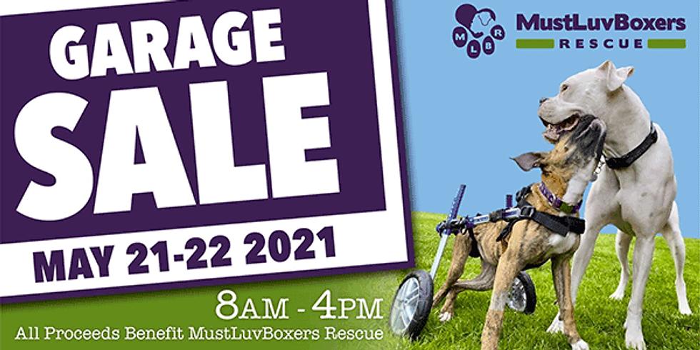 MLBR Spring Garage Sale #2