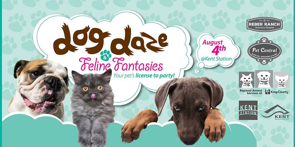 MLBR at Dog Daze Adoption Event
