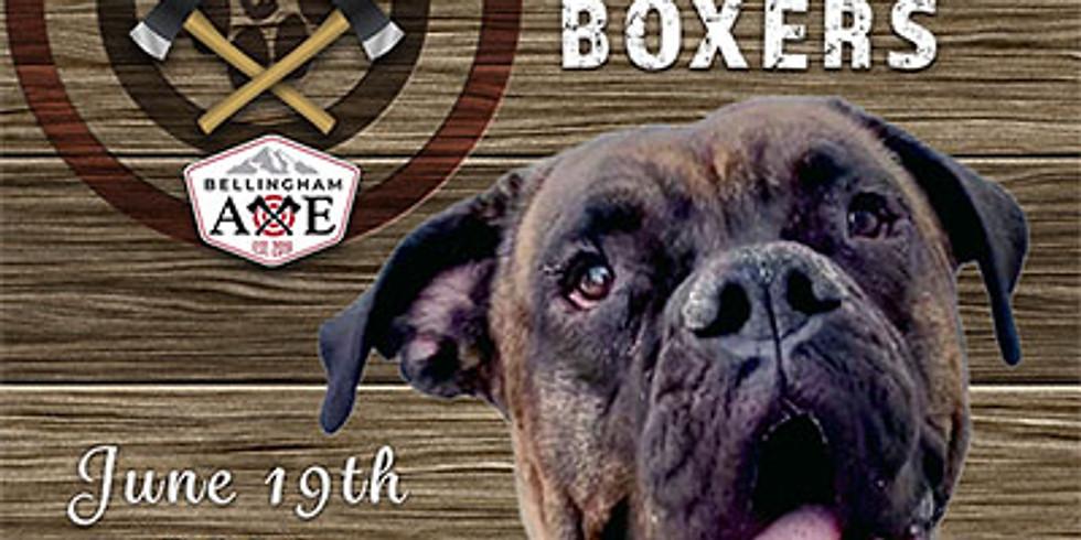 Bullseyes for Boxers @ Bellingham AXE