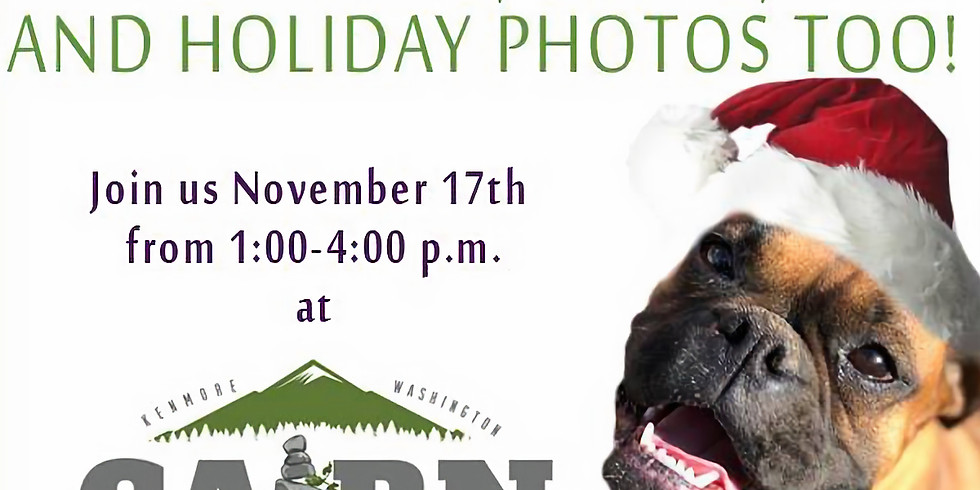 3rd Annual Barking, Brews, And Holiday Photos Too!