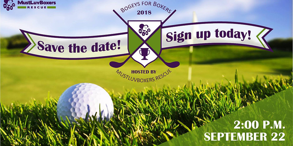2nd Annual Bogeys for Boxers Golf Tournament