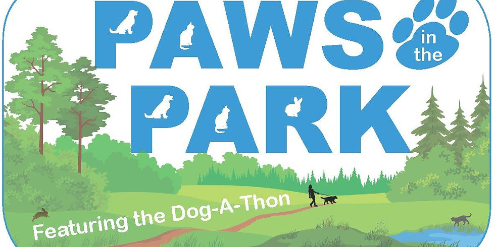 MLBR at Paws in the Park featuring the Dog-A-Thon