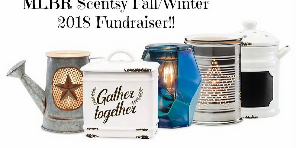 MLBR Scentsy Fundraiser Fall/Winter 2018