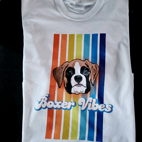 Boxer Vibes T Shirt