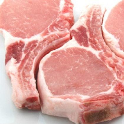 Pork loin chops - 1kg