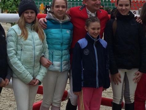 Всадники из Сергиева Посада выступили на Кубке Московской области по конкуру