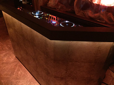 Bespoke DJ Booth for Hire Rent