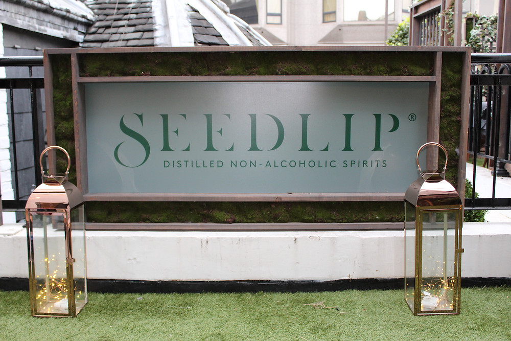 Seedlip Dry January campaign event design Kit and Caboodle