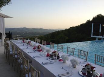 private birthday dinner ibiza private vi