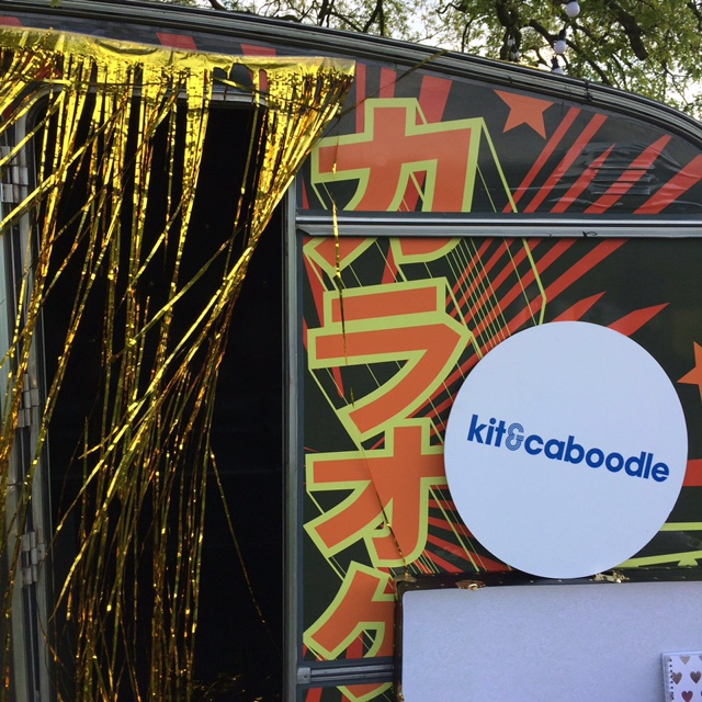 Karaoke pop up party booth for hire 2