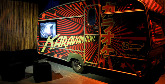 Karaoke pop up party booth for hire