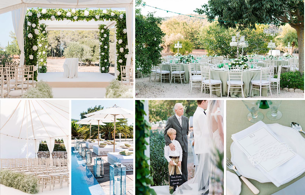 Luxury Ibiza Wedding Design and Planning