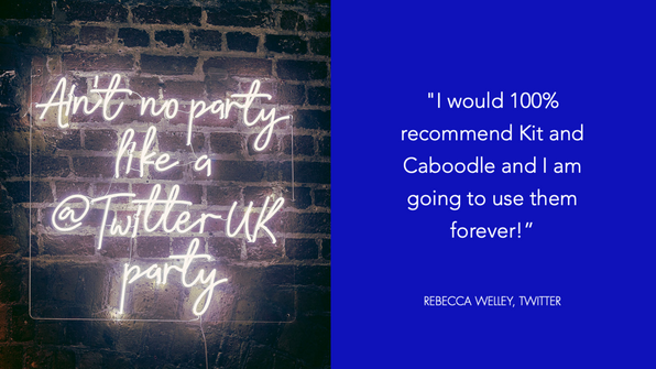 Review Kit and Caboodle London Events Agency