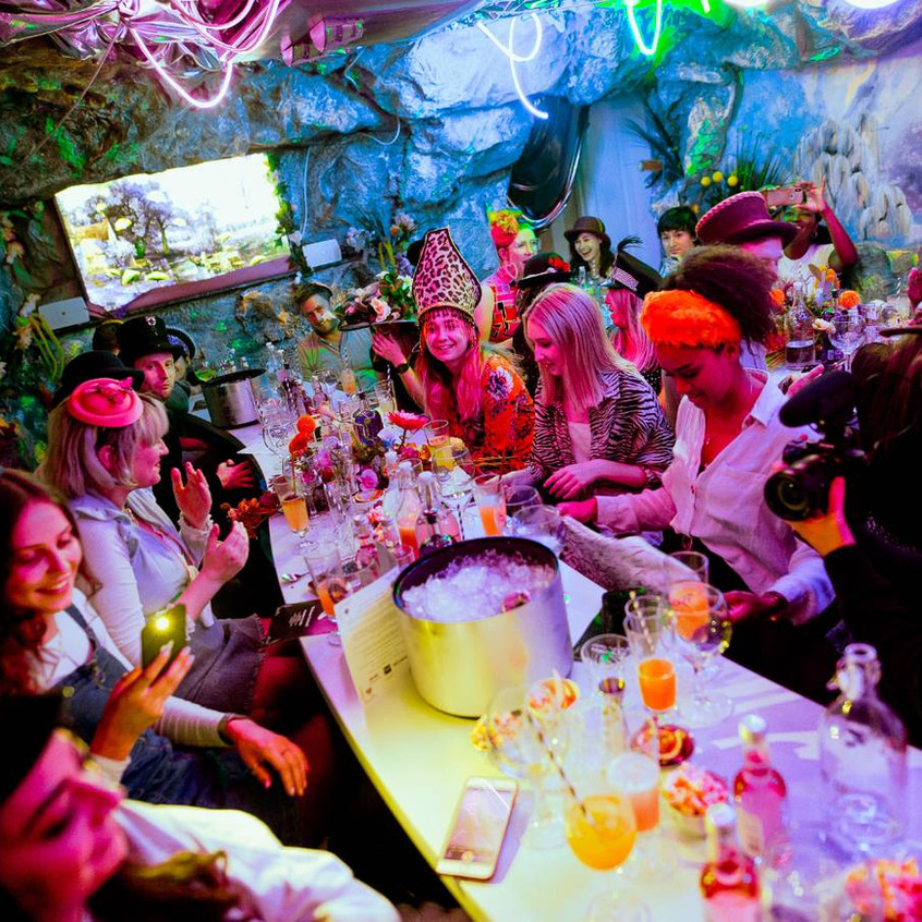 The Mad Hatter's Gin & Tea party London