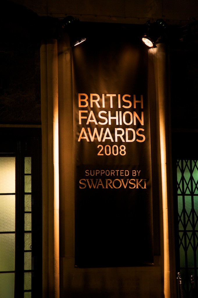 British Fashion Awards London Kit and Caboodle
