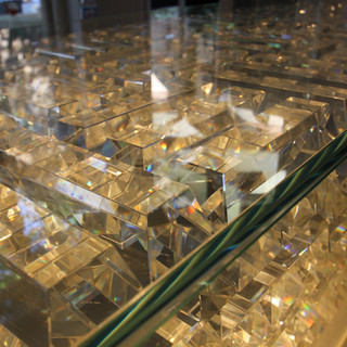 Aurum Crystal Bricks Hire Rent Event Design LondonAurum Crystal Bricks Hire Rent Event Design London