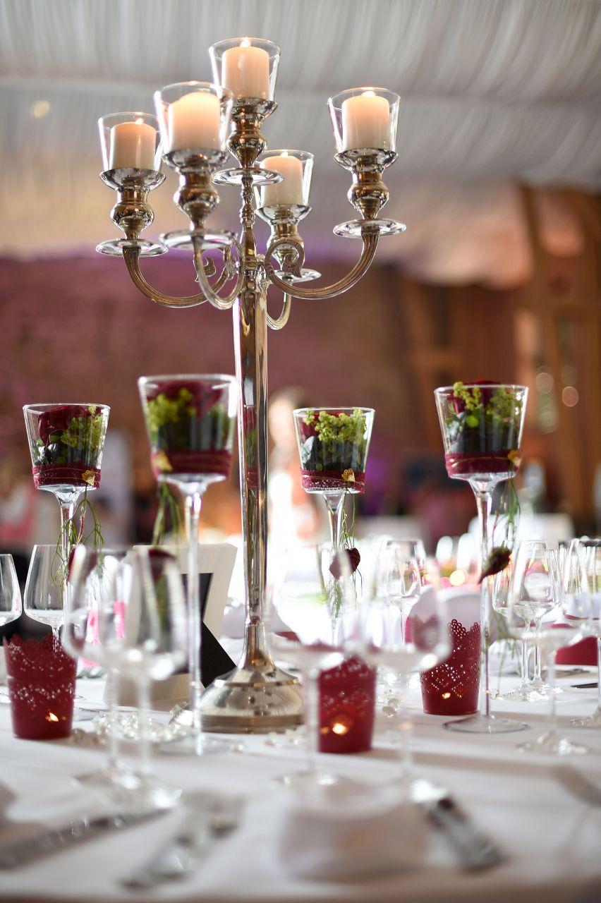 Hochzeitsmesse_rot weisse Dekoration_8