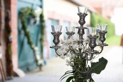 Hochzeitsmesse_grün_weisse_Dekoration_Orchidee_Kerzenleuchter_1