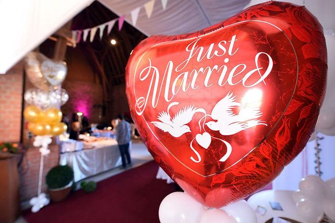 Ballons von Circus Ikarus auf der Hochzeitsmesse your wedding party