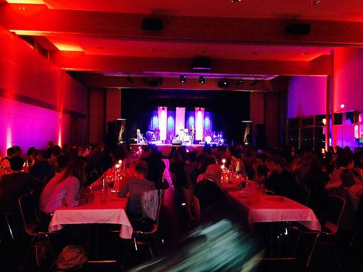 Betriebsfest der Sparkasse Fulda in der Mehrzweckhalle Neuhof