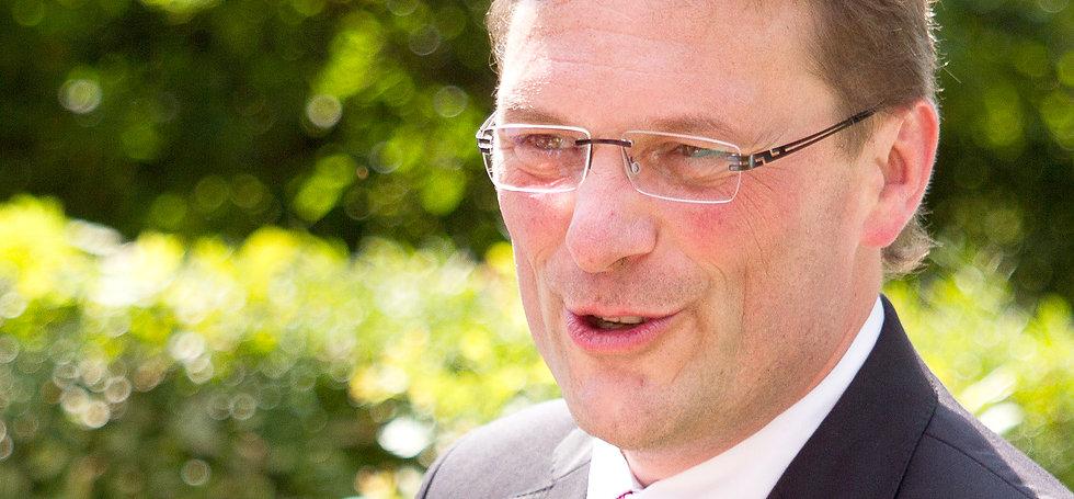 Hochzeitsredner und freier Redner Olaf Reinicke auf der Hochzeitsmesse your wedding party