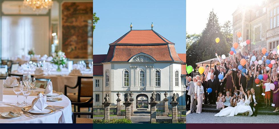 Prinz von Hessen auf Hochzeitsmesse auf Schlos Fasanerie