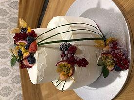 Eistorte für die Hochzeit