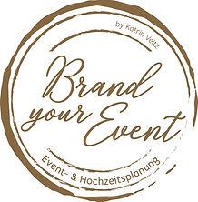 Brand your event Hochzeitsplanung