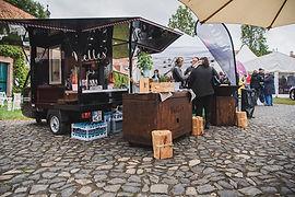 Messestand auf dem Feigelände Hochzeitsmesse Fulda