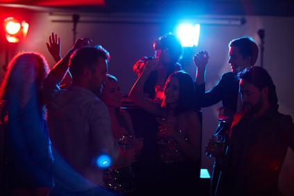 Tanzen und Feiern mit dj Audioplayer