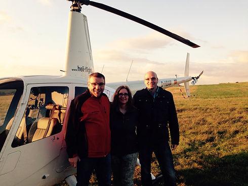 Verlosung Hubschrauber Rundflug auf der Hochzeitsmesse in Fulda