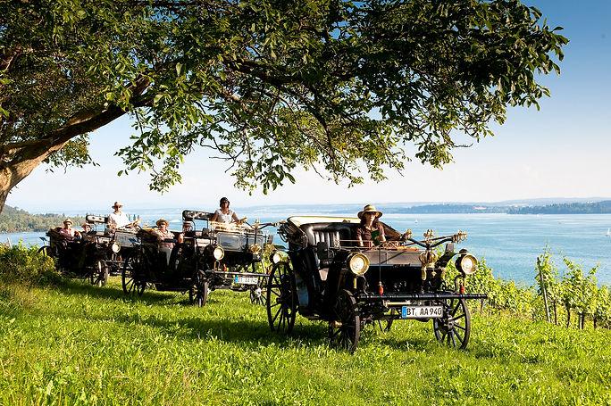Hochzeitskutsche Aaglander auf der Hochzeitsmesse your wedding party auf Schloss Fasanerie
