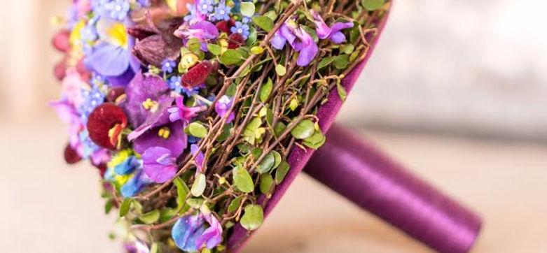 Blumen Link auf der Hochzeitsmesse your wedding party