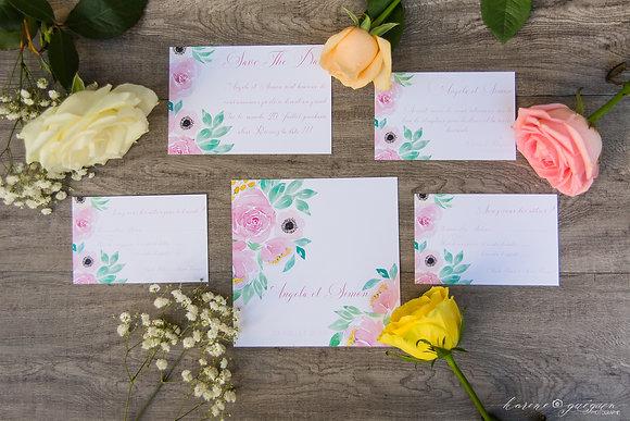 Invitation Repas Romantique