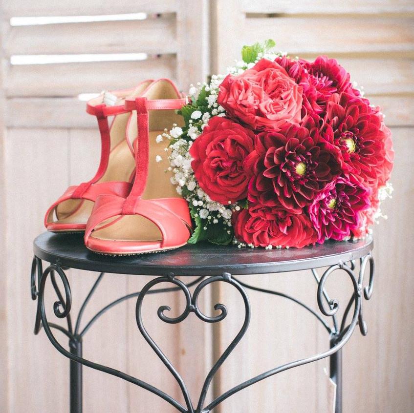 les chaussures de la mariée - ally pop - wedding planner - pictorelle