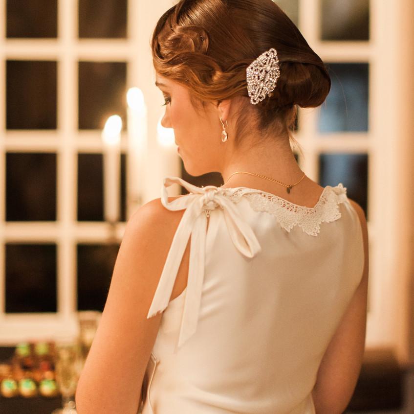 mariage gatsby - bijou cheveux - ally pop - wedding planner seine et marne - céline chan