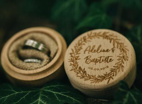 Reportage mariage : Adeline & Baptiste - 08/09/2018