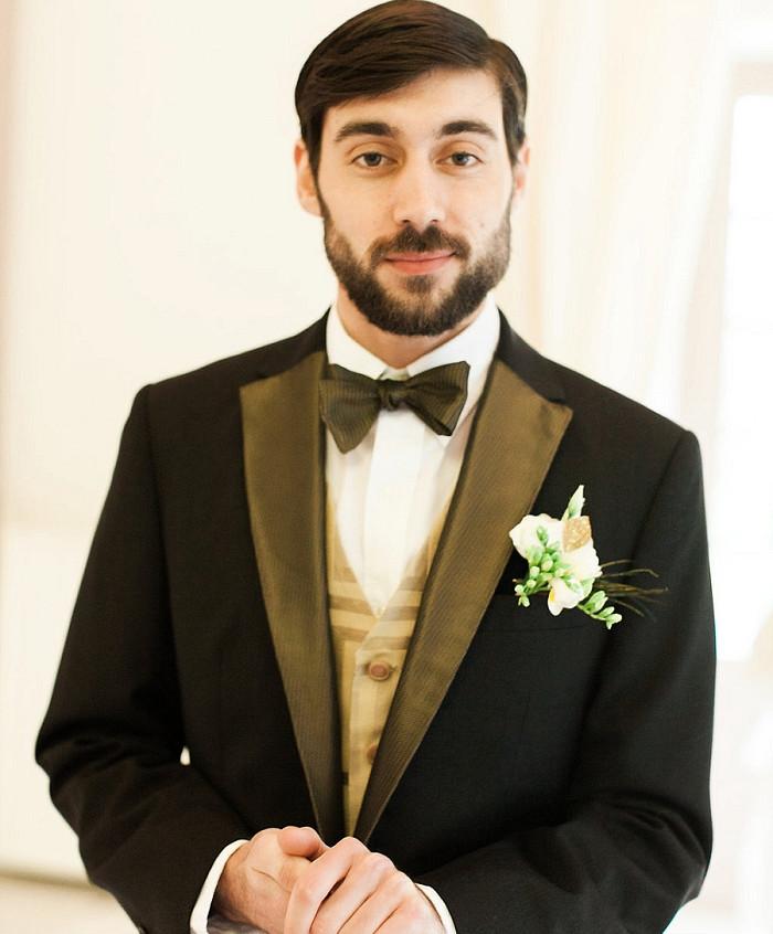boutonnière marié - ally pop - wedding planner seine et marne - wedding planner paris - céline chan