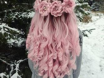Wedding hair : la nouvelle tendance : le braided rose