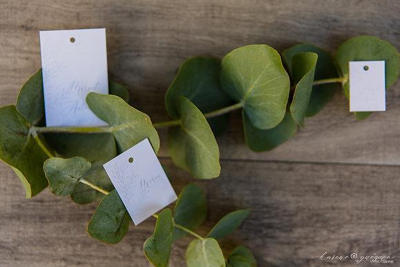 Petite étiquette Organic