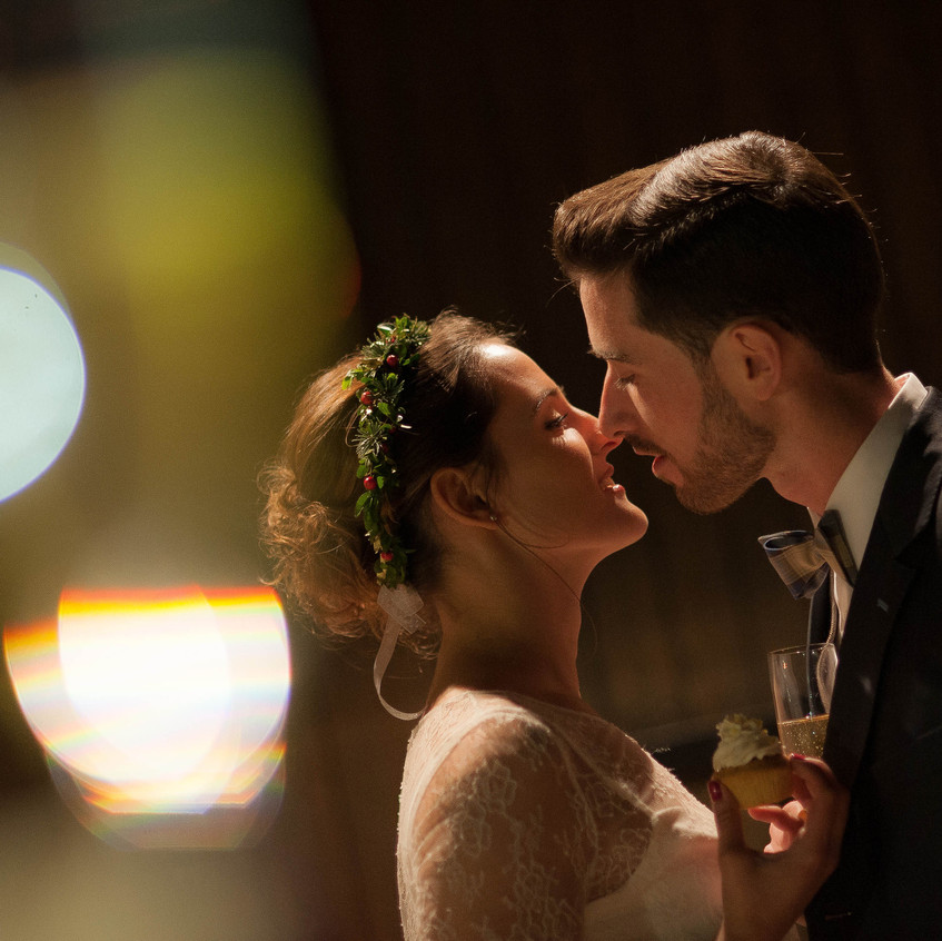 mariage hiver - wedding planner seine et marne - couronne de fleurs