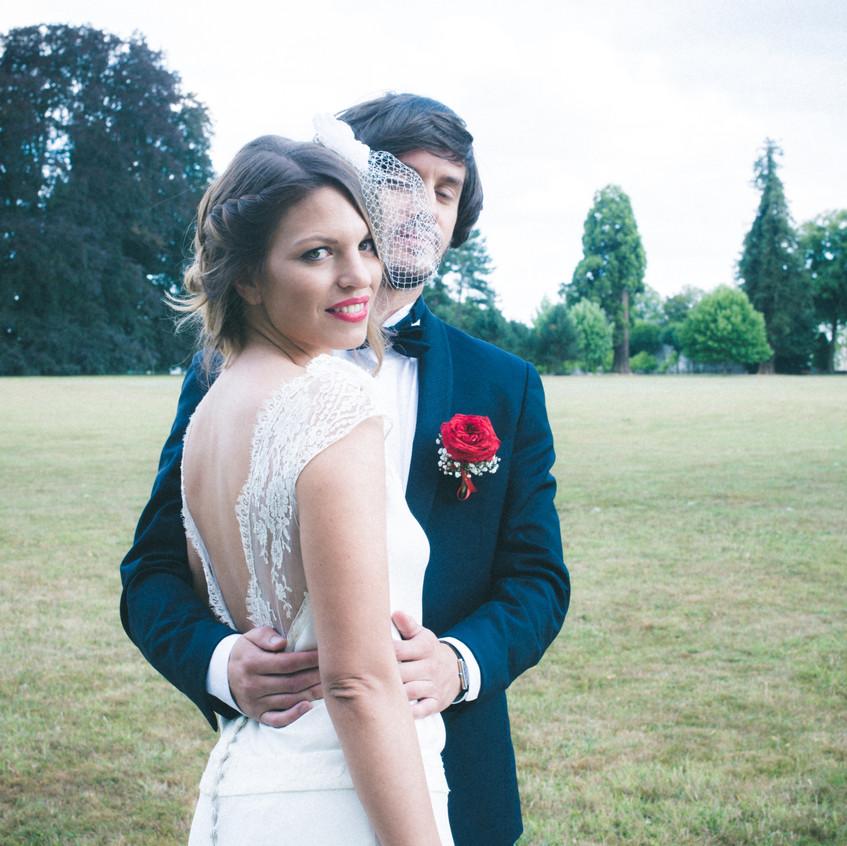bibi mariage - coiffure mariage - ally pop - wedding planner - mariage rétro chic - pictorelle - laure b gady