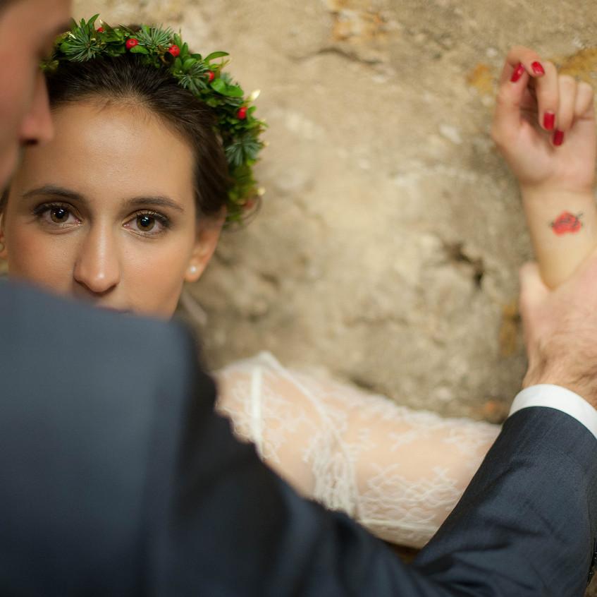 ally pop - wedding planner - tatouage éphémère - mariage - wedding tattoo - motsdamour - sabrina godemert