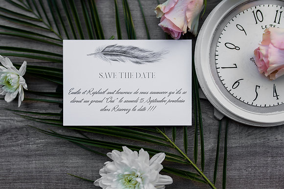 Save the date Plume