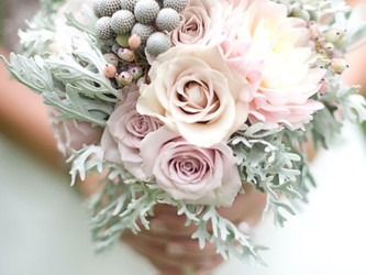 Inspiration mariage : mint & rose