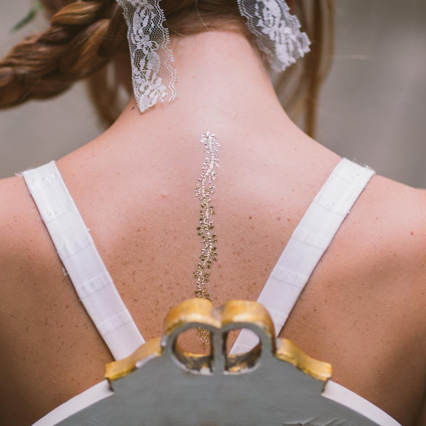 mariée tatouée - mariage bohème - ally pop - wedding planner paris - wedding planner seine et marne