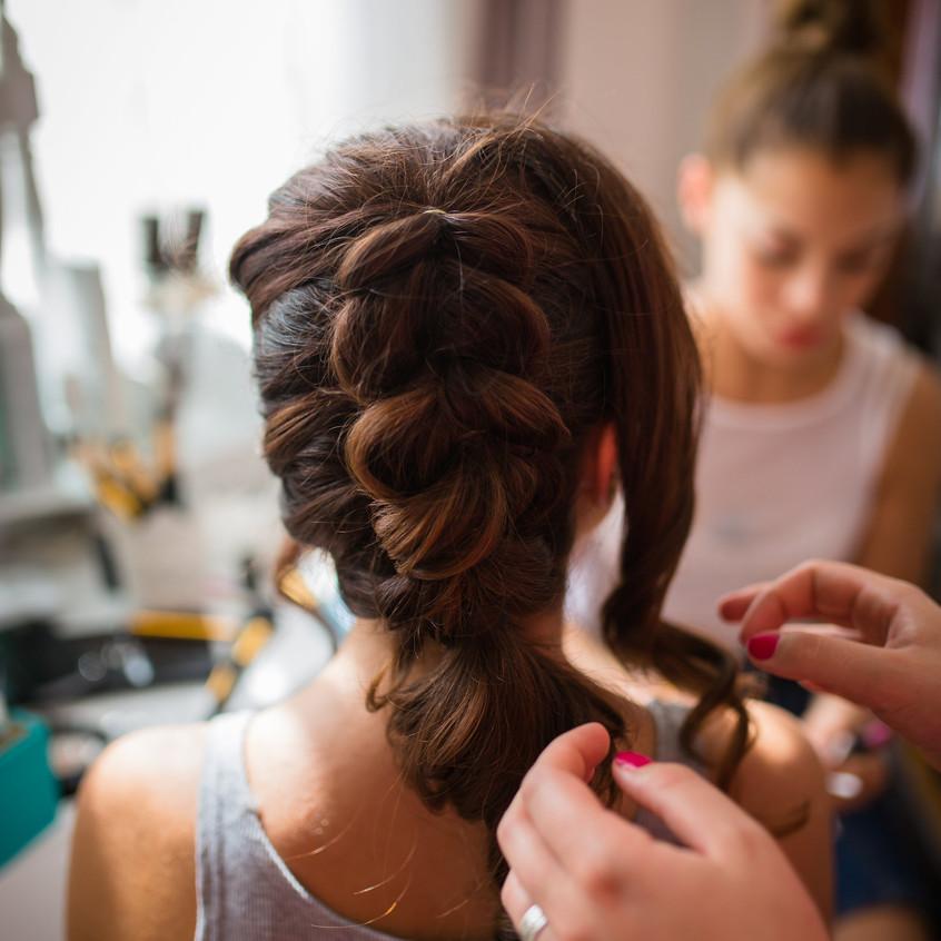 la coiffure de la mariée - ally pop - wedding planner - avaphotographies