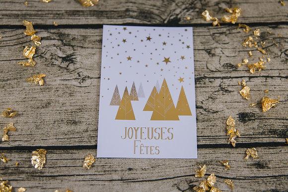 Carte de Noël Féérique