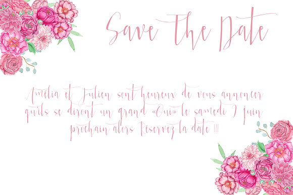 Save the date Champêtre